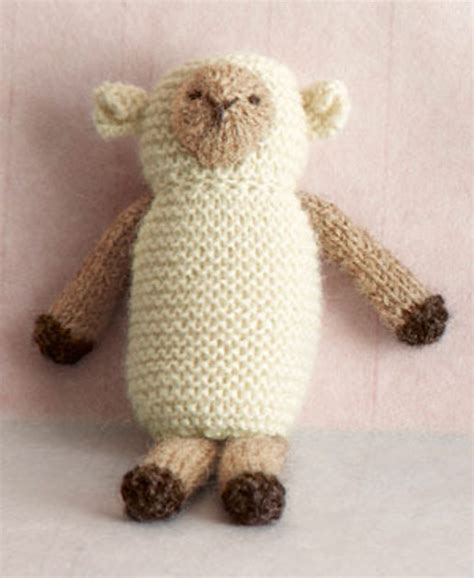 free crochet pattern 80093ad little lamb lion brand yarn knit little lamb in lion brand superwash merino cashmere