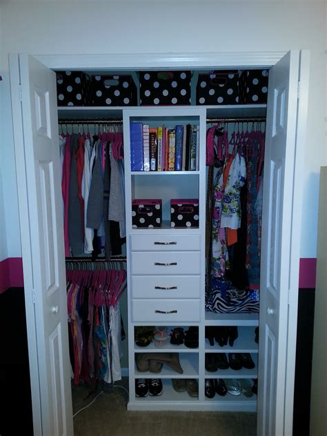 organized closet ana white custom kids closet diy projects