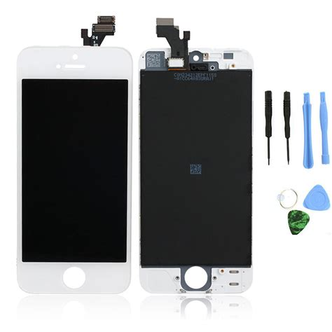 Lcd Iphone 5se white lcd display touch screen digitizer assembly