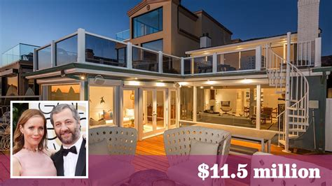 leslie mann judd apatow house judd apatow and leslie mann get 11 5 million for malibu