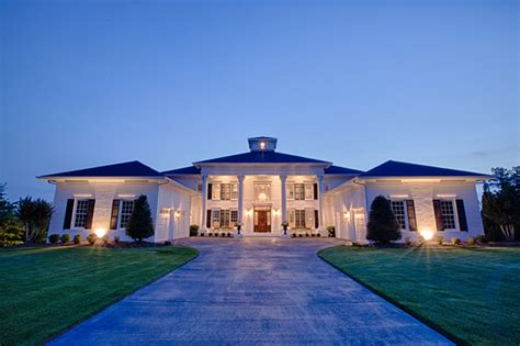custom home on lake tuscaloosa traditional