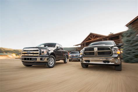 Comparison: 2015 Ford F 150 vs. Ram 1500 vs. Chevrolet