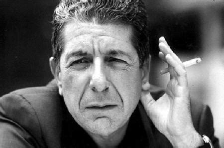 Cohen Is No by Der Pol 237 Ngano Leonard Cohen Quot Everybody Knows Quot