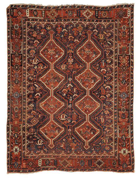 asta tappeti antichi tappeto sud qashqai xix secolo antiquariato