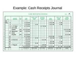 disbursement journal template receipts journal template free printable