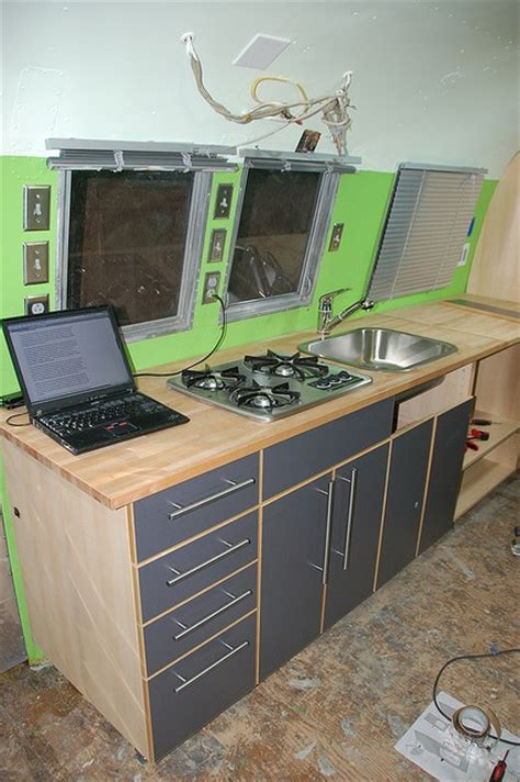 Airstream Cabinets by Cutting Cabinets For Trailers All Things Airstream