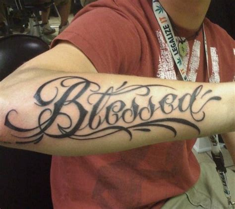 blessed tattoos designs ideas and meaning tattoos for you