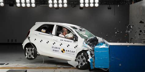 Kia Crash Test Ancap Kia Picanto Crashed Locally In Response To