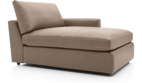 leather chaise lounge with arms lounge ii leather right arm chaise lounge in chaises