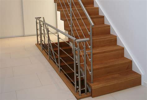 treppe edelstahlgeländer achberger baveg treppenwerkst 228 tten plz 82024 taufkirchen