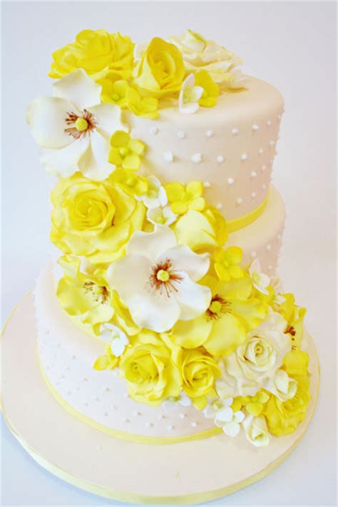 wedding cakes new jersey cascade of sugar flowers cutom cakes