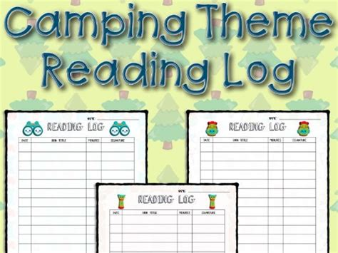 themes for reading logs cing theme reading log by mrsphillips777 teaching