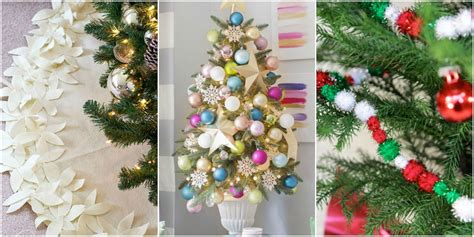 christmas decoration ideas 2016 17 unique christmas tree decorations 2016 ideas for
