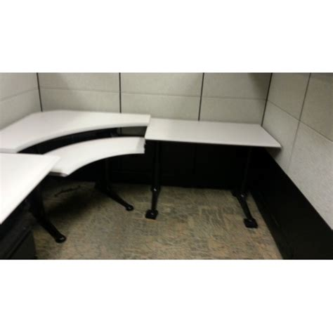 Herman Miller Corner Desk Herman Miller Run For Adjustable Corner Sit Stand Desk Allsold Ca Buy Sell Used Office