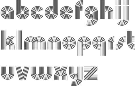 design lines font maori language fonts