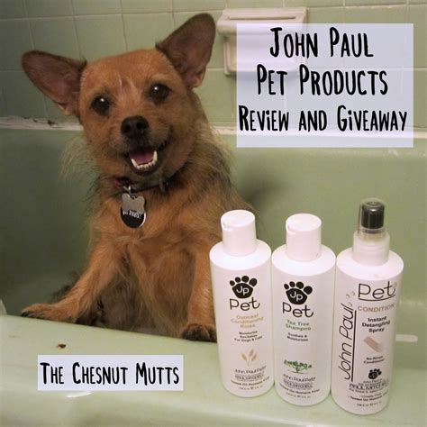 Pet Supplies Sweepstakes - review giveaway john paul pet products the chesnut mutts