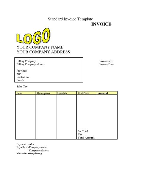 Invoice Template Download Free Invoice Template Ideas Easy Invoice Template Free