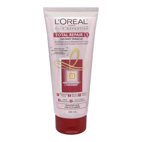 Loreal Hair Mask Total Repair 200gr l or 233 al total repair 5 instant miracle pro keratine and ceramide mask walmart ca