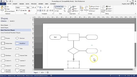 process map visio creating a process map with microsft visio