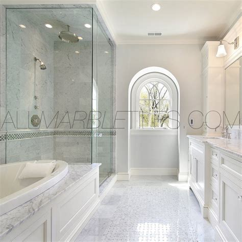 carrara marble tile bathroom bianco carrara tile design ideas contemporary new york