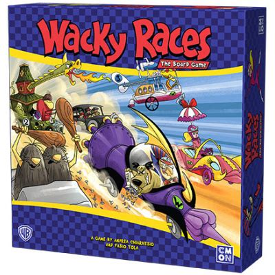 Www Uplay It Wacky Races The Board Game Cmon Limited
