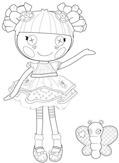 kids n fun com coloring page lalaloopsy lalaa lopsy