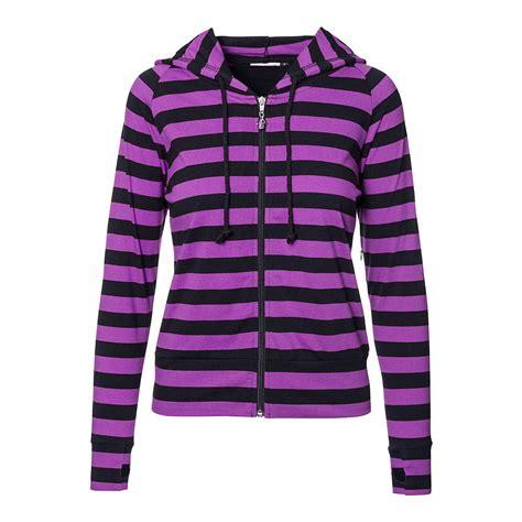 Striped Hoodie banned purple black striped hoodie alternative hoodies