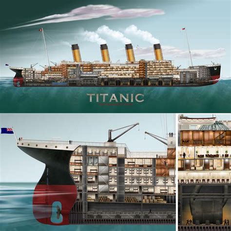 Titanic Section by 15 Best Images About Ship Ferry Mapping On