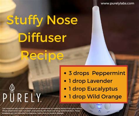 Stuffy Nose Detox by 35 Best Images About Living On Diffusers