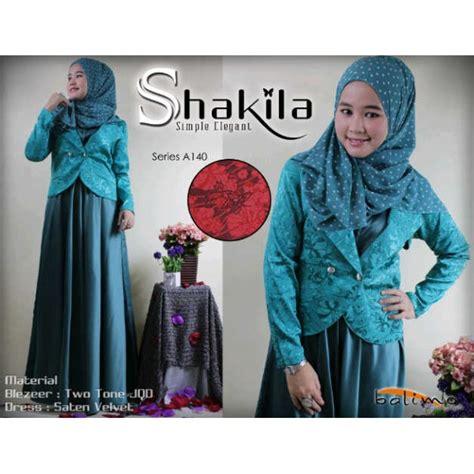 Kalila Syari By Ummi balimo shakila hijau baju muslim gamis modern