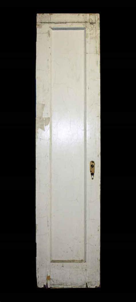 narrow single panel door olde things