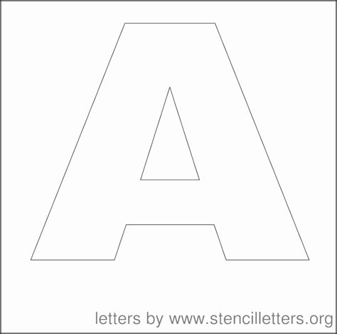 free printable letter stencils 6 inch 15 6 inch stencil letters printable besttemplates