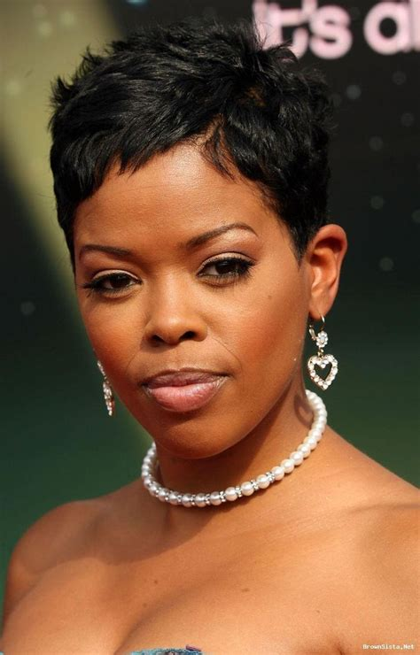 short hair styles worn by malinda williams malinda williams great cut i love short hair