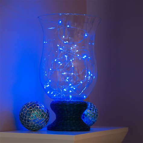 battery operated accent lights battery powered led lights w silver wire