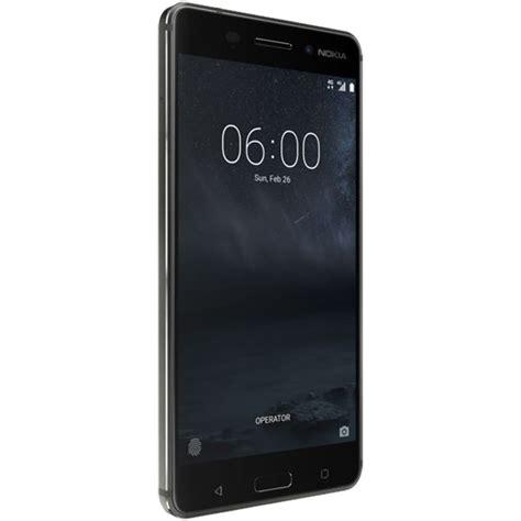 Nokia 6 32gb Black Matte by Nokia 6 Ta 1025 32gb Smartphone 11pleb11a06 B H Photo