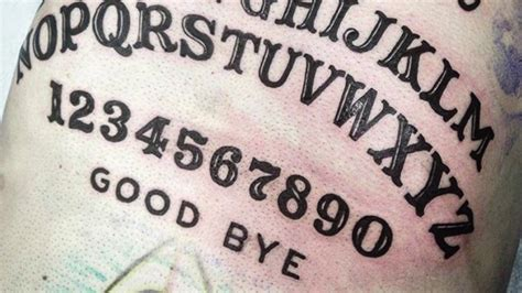 ouija board tattoo ouija board