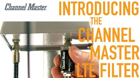 channel master   lte filter improves tv antenna
