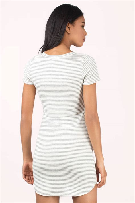 grey patterned bodycon dress cute white grey dress shirt dress striped dress