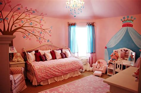 girls bedroom wallpaper ideas teenage girls bedroom decoration ideas with pink theme
