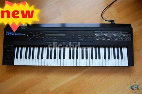 new roland d50 keyboard with tone card clickbd