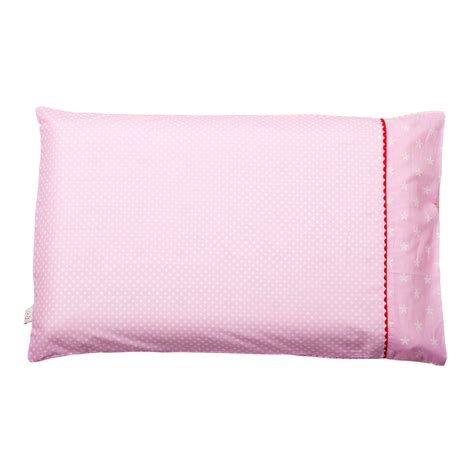 Is Pillow For Baby by Clevamama Baby Pillow Pink