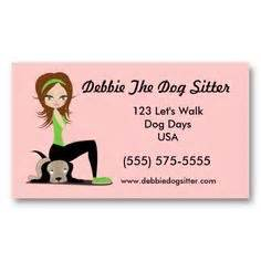 pet sitter business cards templates 1000 images about pet sitting business cards on