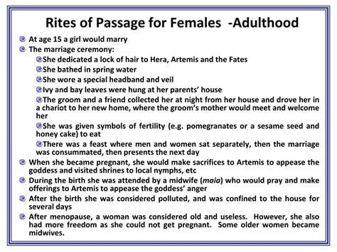 Rites Of Passage rites of passage adulthood real