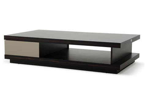 a x caligari modern oak grey gloss coffee table