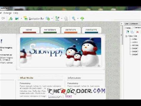tutorial web page maker bangla tutorial web page maker introduction part 2