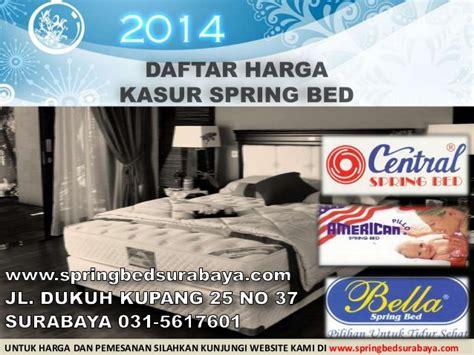 Kasur Alga Bed daftar harga kasur bed