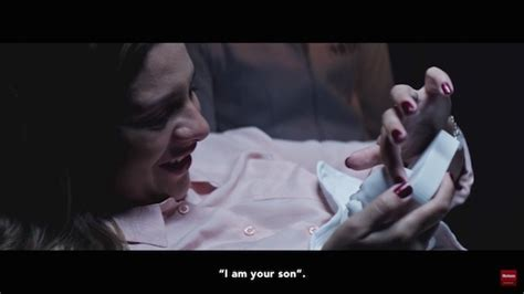 unborn design instagram touching ad shows a blind mom brought to tears with 3d