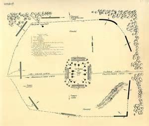 goliad map map of fannin s fight march 19 1836 tslac