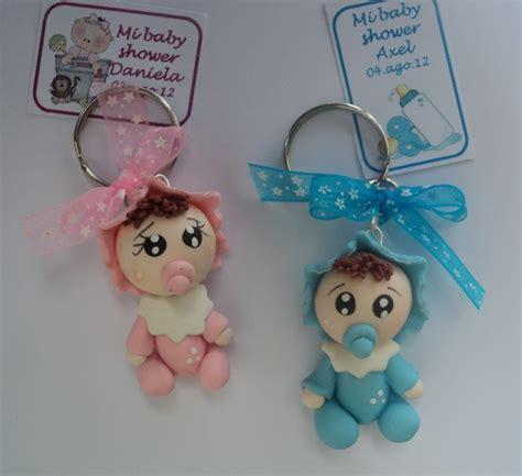 recuerdos de baby shower de ni o recuerdo llavero de bebe pasta francesa baby shower