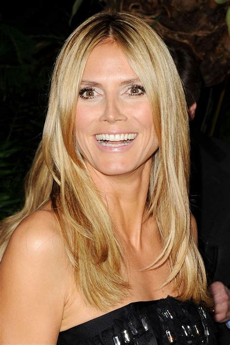 what colour is heidi klum s hair heidi klum joins america s got talent judging panel